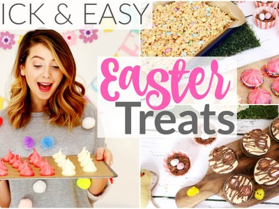 6 Quick & Easy Easter Treats | Zoella