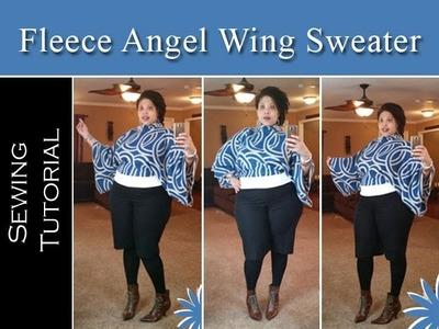 Angel Wing Sweater Tutorial