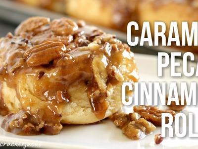 Caramel Pecan Cinnamon Rolls!! Homemade Sticky Buns Recipe