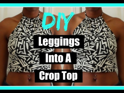 DIY | Turn your leggings into a crop top