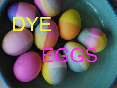 DYE Your Easter Egg with me, Easter Egg Decoration