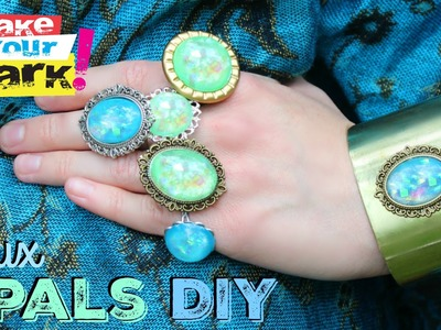 How to: Faux Opals DIY