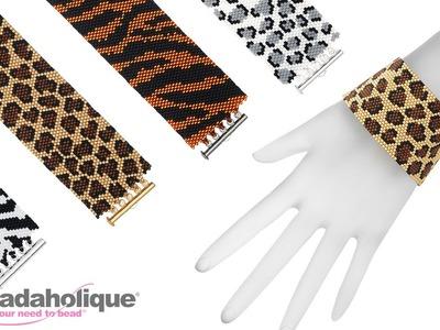 How to Make the Animal Print Peyote Bracelet Kits