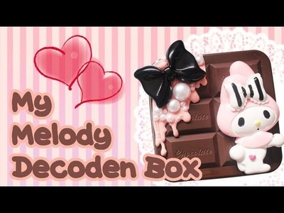 ♔ My Melody Decoden Box