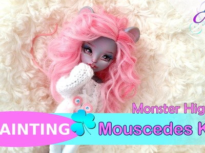 REPAINTING - Monster High Mouscedes King