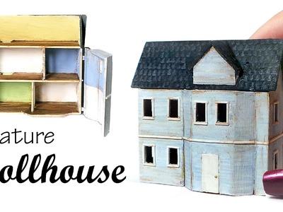 Simple Miniature Dollhouse Tutorial