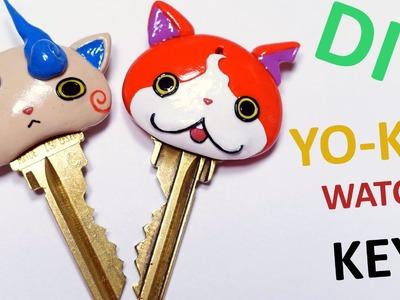 Yo-Kai Watch Inspired Key Polymer Clay Tutorial