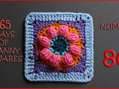 365 Days of Granny Squares Number 80