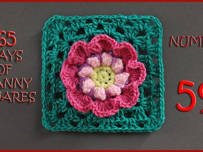 365 Days of Granny Squares Number 59