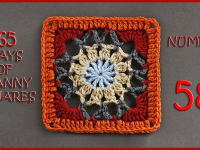 365 Days of Granny Squares Number 58