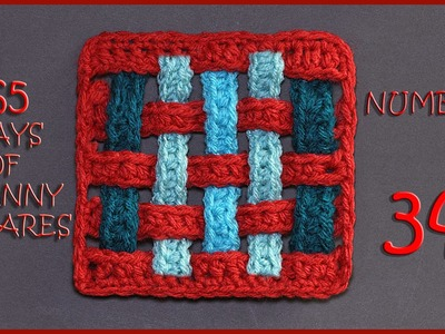 365 Days of Granny Squares Number 34