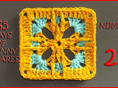 365 Days of Granny Squares Number 21