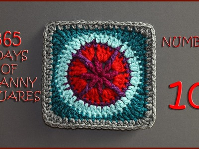 365 Days of Granny Squares Number 10