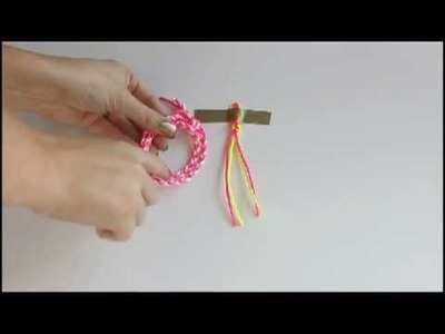 Chevron Braided Bracelet Video Tutorial