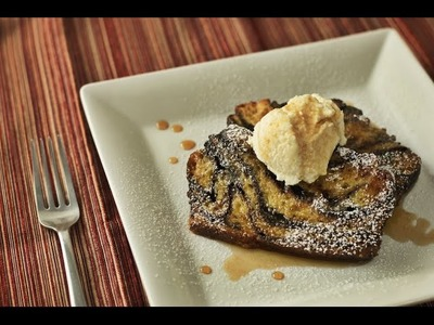 Chocolate Babka French Toast | Hungry AF