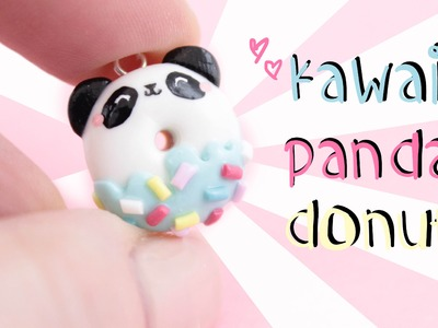 Panda Donut Diy! -in Clay!-  | Kawaii Friday