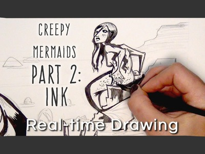 Q&A - CREEPY MERMAIDS ARTCAST 2