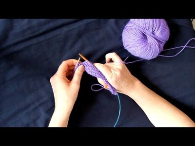 Shaping a Shawl Collar with Short Rows