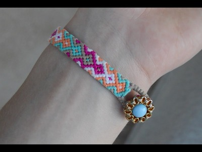 Some tips for friendship bracelets. How to start and end bracelet.