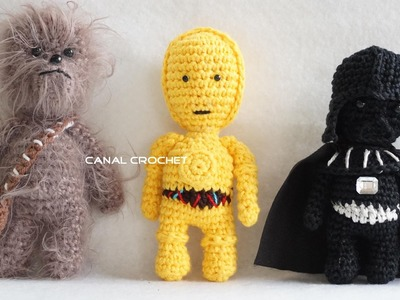Star wars 1 amigurumis  tutorial