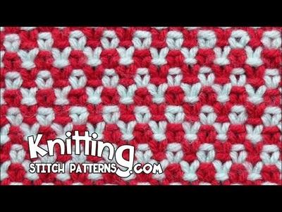Two color Linen Stitch