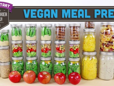 Vegan Meal Prep for the Week - Mind Over Munch Kickstart 2016