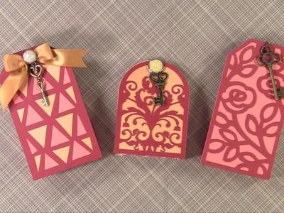 Cricut Tag  Mini Gift Boxes Tutorial