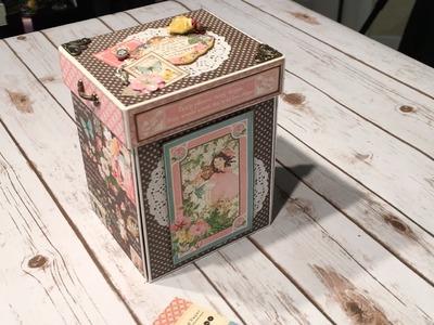 Graphic 45 Children's Hour Explosion Box Mini Album