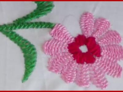Hand Embroidery Certain Stitch kashmiri Tanka