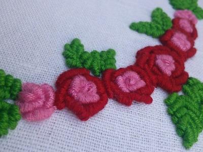 Hand Embroidery Pattern | Bullion Stitch |  HandiWorks #37