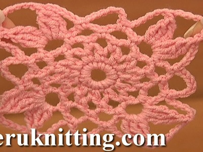 How to Crochet Square Motifs  Tutorial 14 part 1 of 2