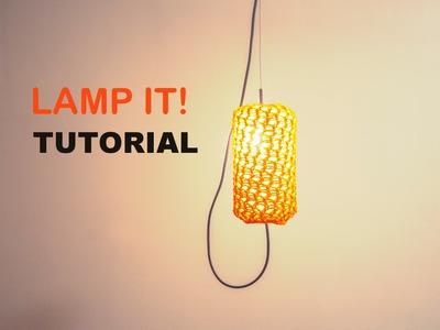 Lamp It! - Lampshade. Lantern Tutorial [Loom Knitting]
