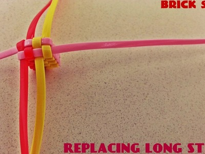 Lanyard Replacing Techniques- Replacing a Long String of a Brick Stitch