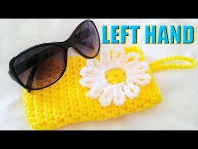 LEFT HAND Glama's Daisy Sunglass Case