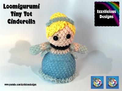 Rainbow Loom Loomigurumi Tiny Tot Cinderella made w. Rainbow Loom Bands