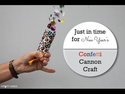 TP Tube Confetti Cannon|Sophie's World