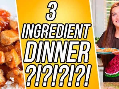 3 Ingredient Sweet and Sour Chicken?! | 3 Items Or Less w. CloeCouture!
