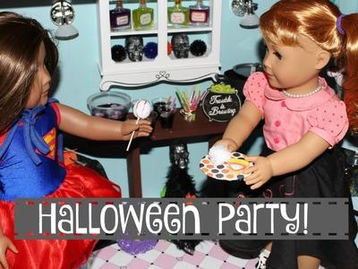American Girl Doll Halloween Doll Room