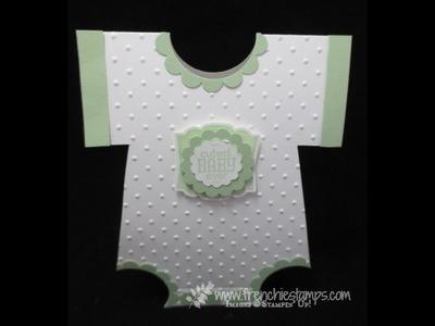 Baby Onesie Card Pattern