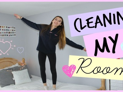 Cleaning My Room + Organizing! My Tips and Tricks!