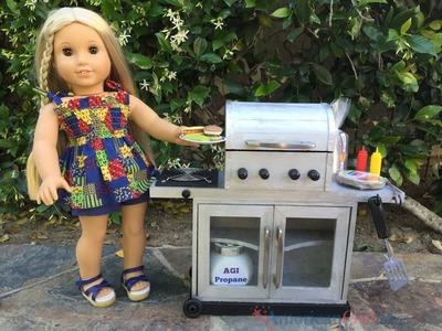 DIY American Girl Doll Grill