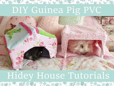 DIY Guinea Pig PVC Hidey House Tutorials