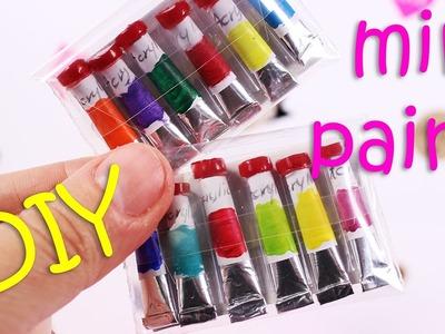 DIY Miniature Acrylic Paint Set