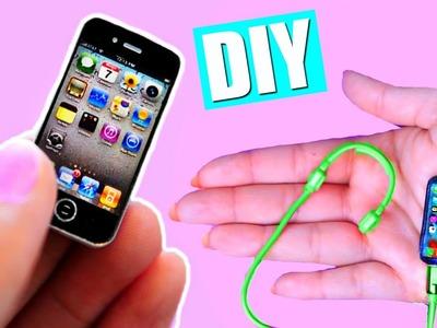 DIY Miniature iPhone! Mini iPhone + Head Phones !