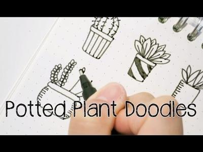 Doodle with Me : Potted Plant Doodles V.2