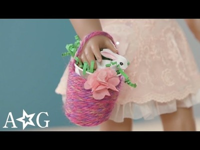 Easter & Spring Flower Basket Craft | American Girl