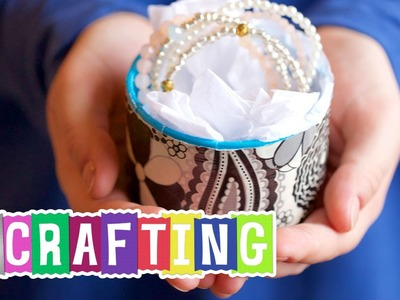 How to Craft a Duct Tape Core Gift Box