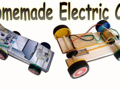 How to Make a Homemade Electric Car (DeLorean Back to the Future)