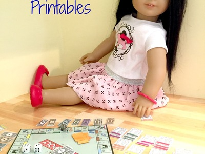 How to make American Girl Doll Monopoly