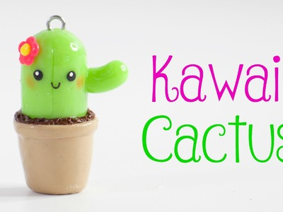 Kawaii Cactus Charm